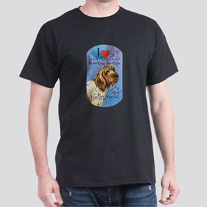 Wirehaired Pointing Griffon Dark T-Shirt